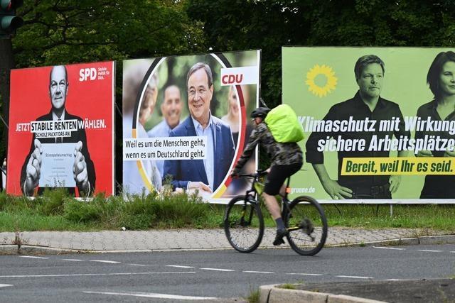 Wahlkampf geht in die entscheidende Phase – auch in Südbaden