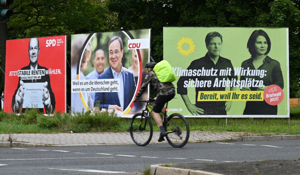 Welche Partei stellt den nächsten Bundeskanzler?    Foto: Arne Dedert (dpa)