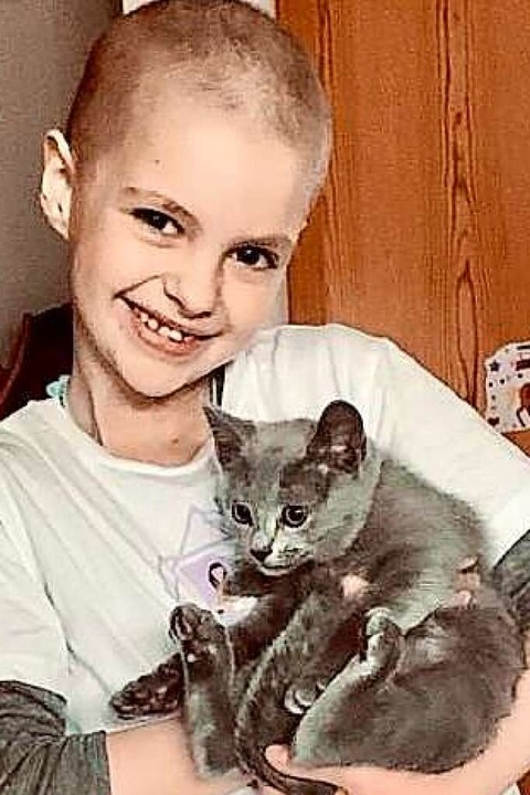 Emilia Zimmerer will wieder gesund werden    Foto: Celina Zimmerer