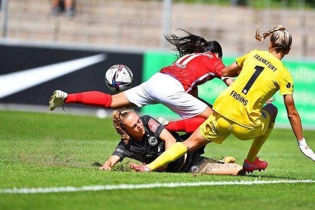 Nervenflattern vor dem Tor – SC-Frauen verlieren gegen Frankfurt 0:1