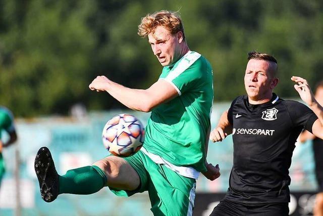 2:0-Heimsieg in Unterzahl für den SV Gottenheim