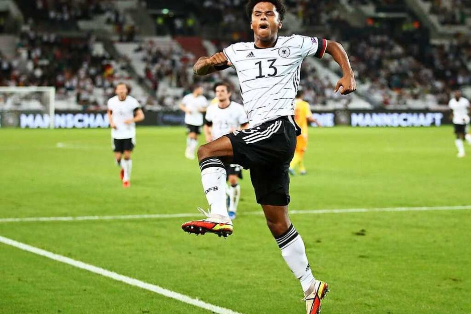 Das WM-Qualifikationsspiel Deutschland gegen Armenien (Foto: Tom Weller (dpa))