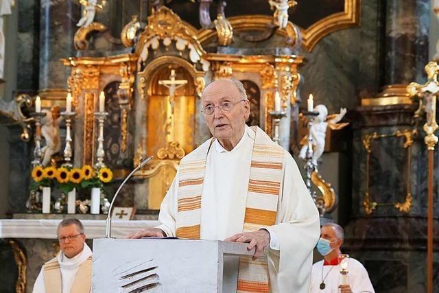 Herbolzheims Ex-Pfarrer Wigbert Steinger wurde 85