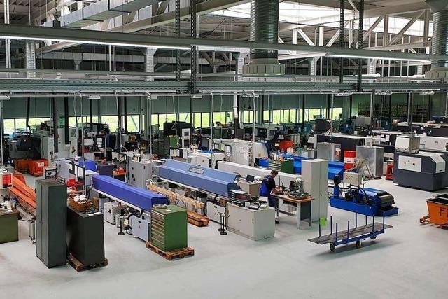 Wie der neue Standort der Waldkircher Firma Harry Roth Wachstum bringt