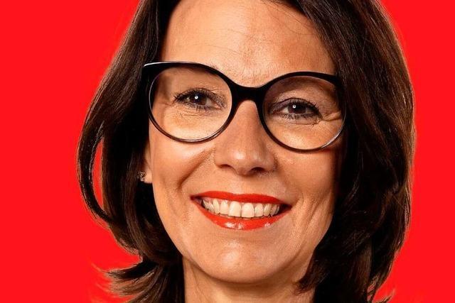 Rita Schwarzelühr-Sutter von der SPD stellt sich dem BZ-Fragenwirbel