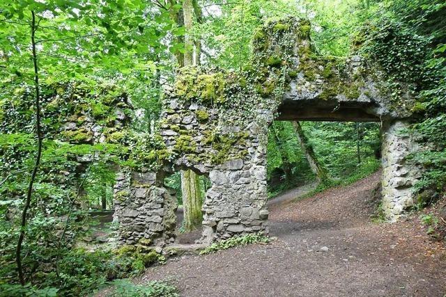 Warum die Burg Wiesneck bei Buchenbach die älteste Burg im Breisgau ist