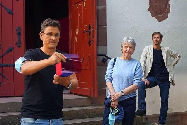 Wie Folie beim Erhalt der alten Schopfheimer Michaelskirche hilft