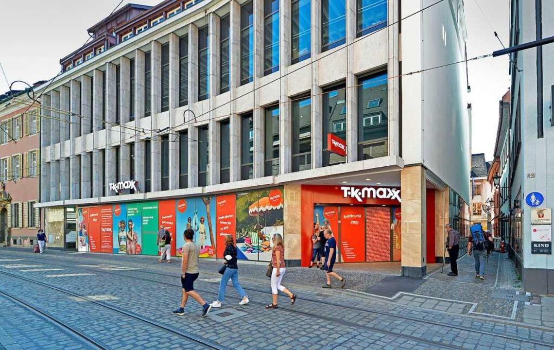 Das Gebäude an der Salzstraße, rechts das Annengässle  | Foto: Michael Bamberger
