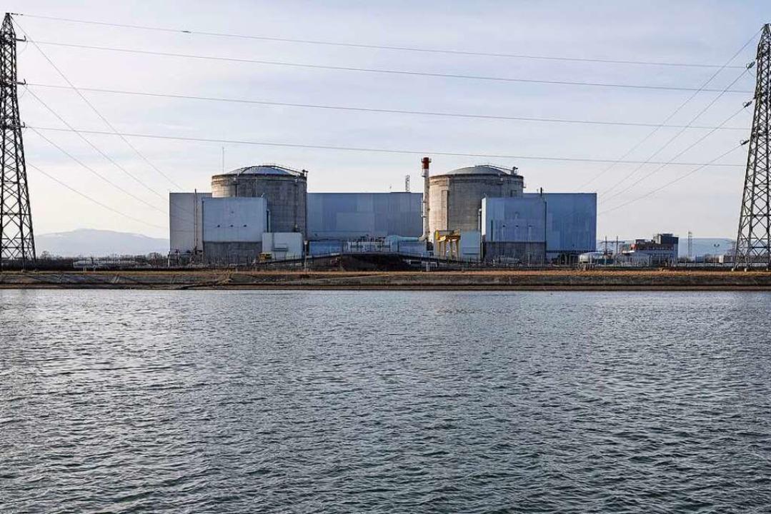 Das Atomkraftwerk Fessenheim (Frankreich) wurde 2020 abgeschaltet.  | Foto: Jean-François Badias (dpa)