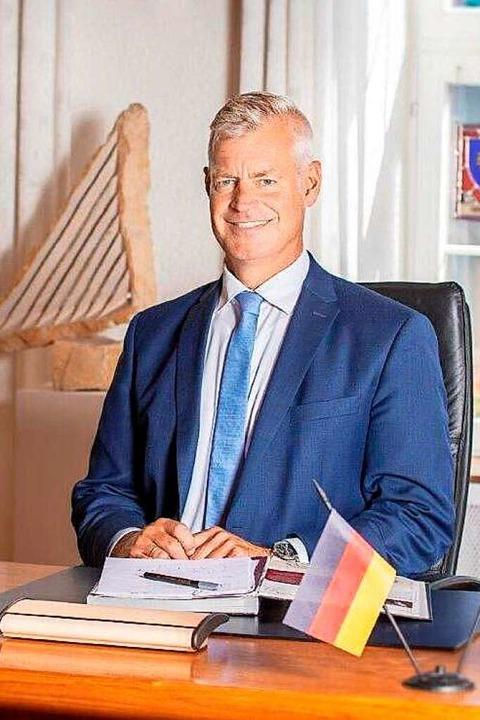 Breisachs Bürgermeister Oliver Rein  | Foto: Stadt Breisach am Rhein