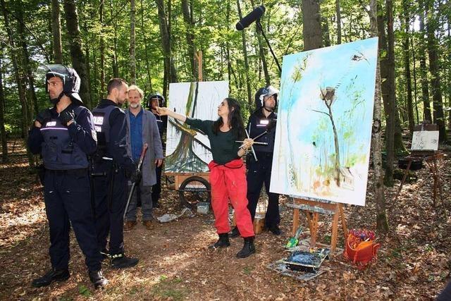 Das Malverbot im Hambacher Forst wird bei March verfilmt
