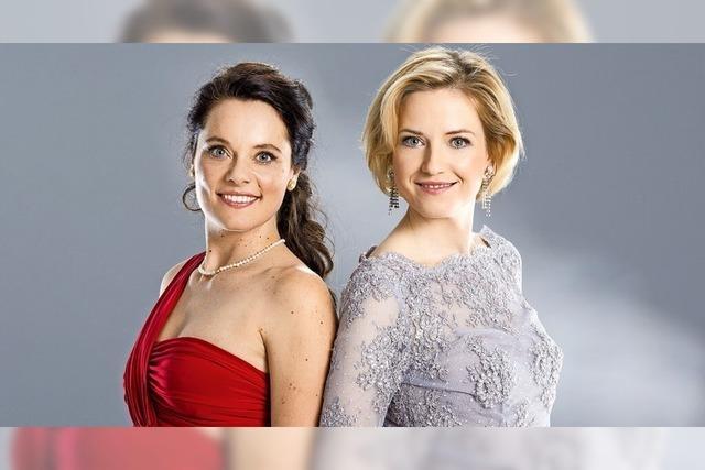 Open-Air-Konzert mit Duo Sopranissimo auf Schloss Bürgeln bei Schliengen