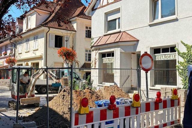 Das Teelädele in Rheinfelden wird nächste Woche abgerissen