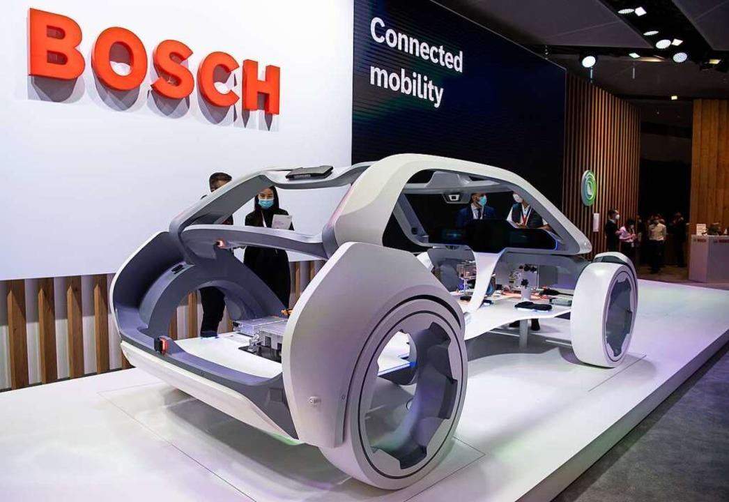 Ein Modell von Bosch  | Foto: Sven Hoppe (dpa)