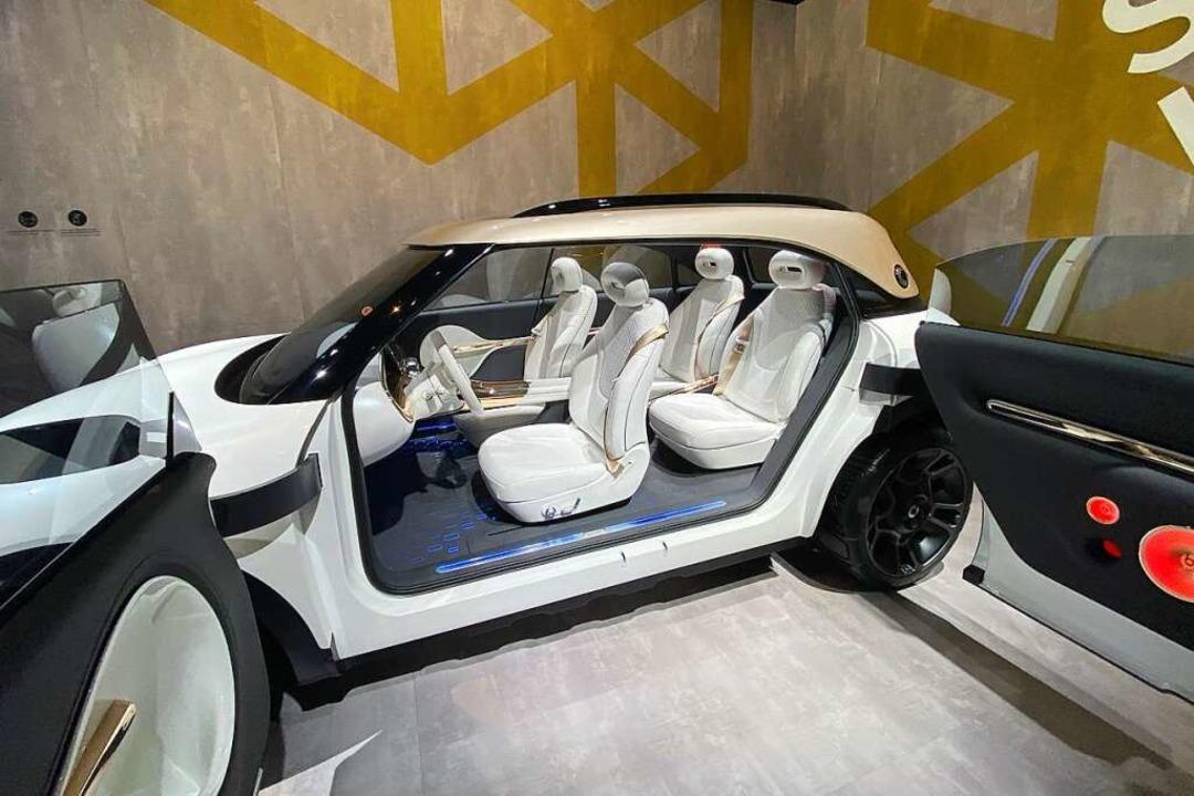 Der neue Smart wird zum SUV  | Foto: Thomas Geiger (dpa)