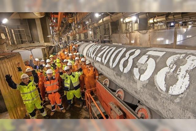 Das letzte Rohr für Nord Stream 2