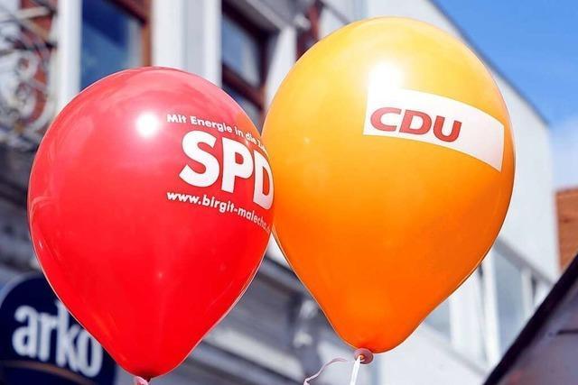 SPD und Union legen in Umfrage zu – Linke wirbt für Rot-Grün-Rot