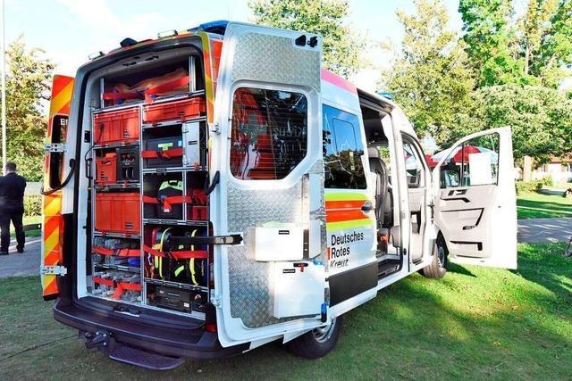 Für 80.000 Euro kauft das Rote Kreuz in Vörstetten einen neuen Einsatzwagen