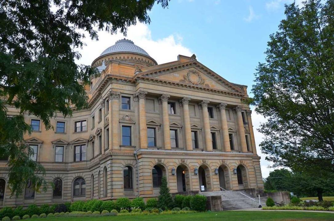 Einer der Prachtbauten: Das Gerichtsgebäude in Wilkes-Barre.  | Foto: Frank Herrmann