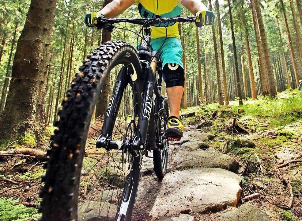 Der Spaziergänger wurde von einem Mountainbike-Fahrer bestohlen (Symbolbild).  | Foto: Jan Woitas