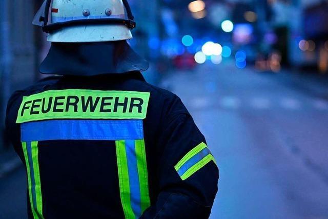 Brand in leerstehendem Haus in Lörrach – 500.000 Euro Schaden