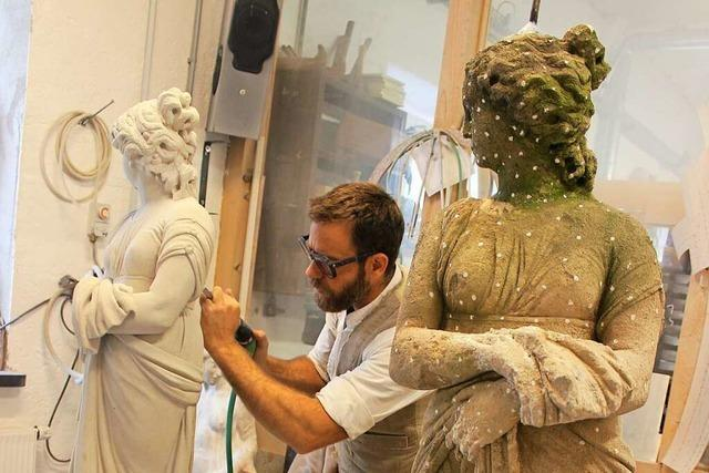 Was macht ein Bildhauer?