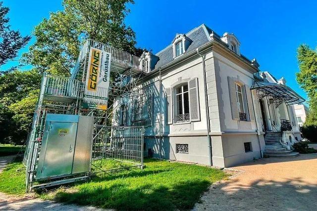 Die Lörracher Villa Aichele soll einen Fluchtturm bekommen