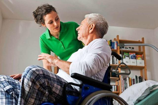 Auf ungeimpfte Pflegekräfte kann die Sozialstation in Ehrenkirchen nicht verzichten