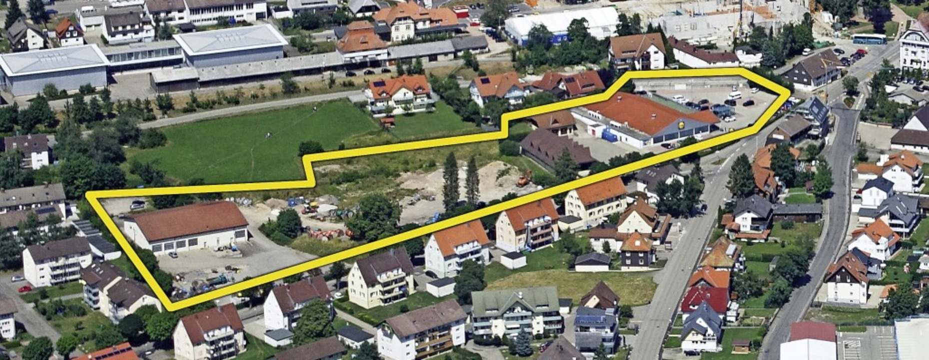 Eine Informationsveranstaltung zum The...e Pläne von Bürgermeister Marlon Jost.  | Foto: Heidi Rombach