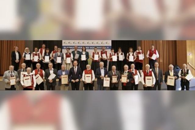 Lauter Stützen in den Blasmusikvereinen der Region am Hochrhein