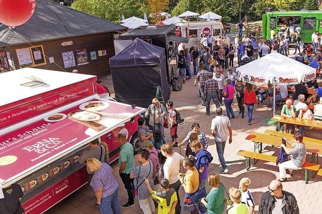 Die Rothaus-Brauerei lädt zum Food-Truck-Festival ein