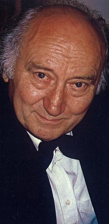 Wolfgang Marschner (1926-2020)  | Foto: Veranstalter