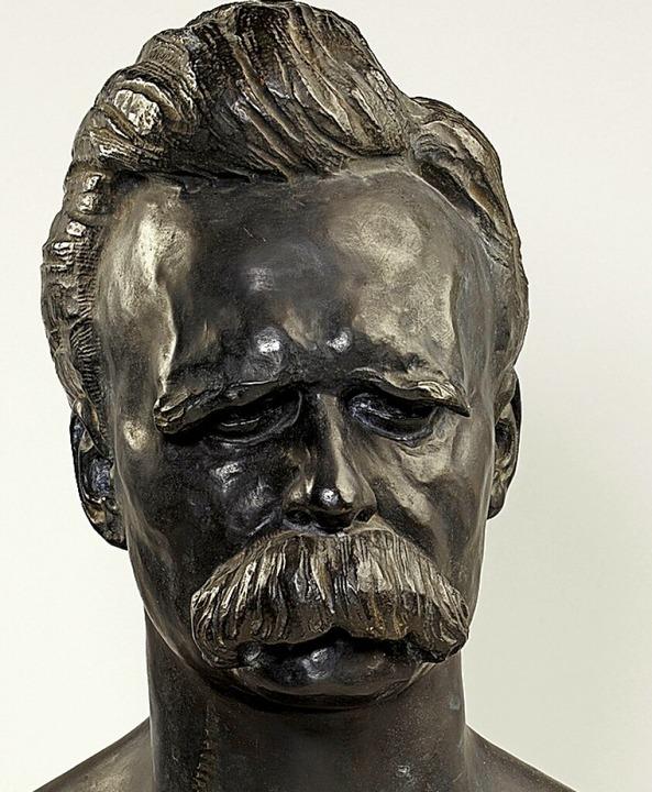 Nietzsche-Büste von Max Klinger    Foto: Städel Museum