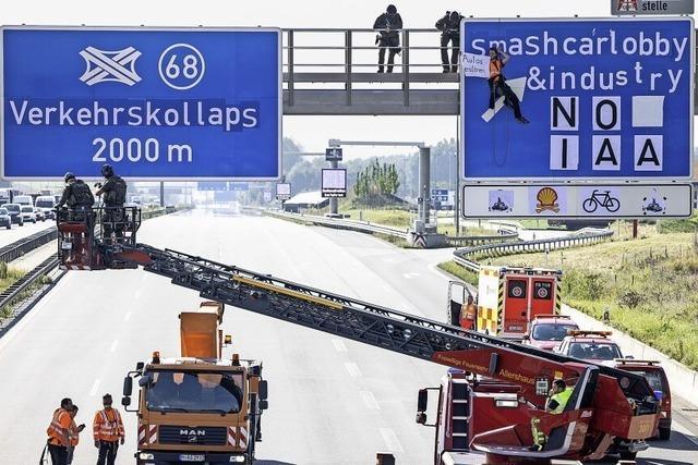 Künstlicher Verkehrskollaps