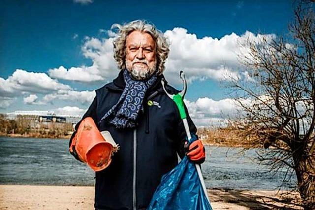 Initiator des Rhine-Clean-Up: