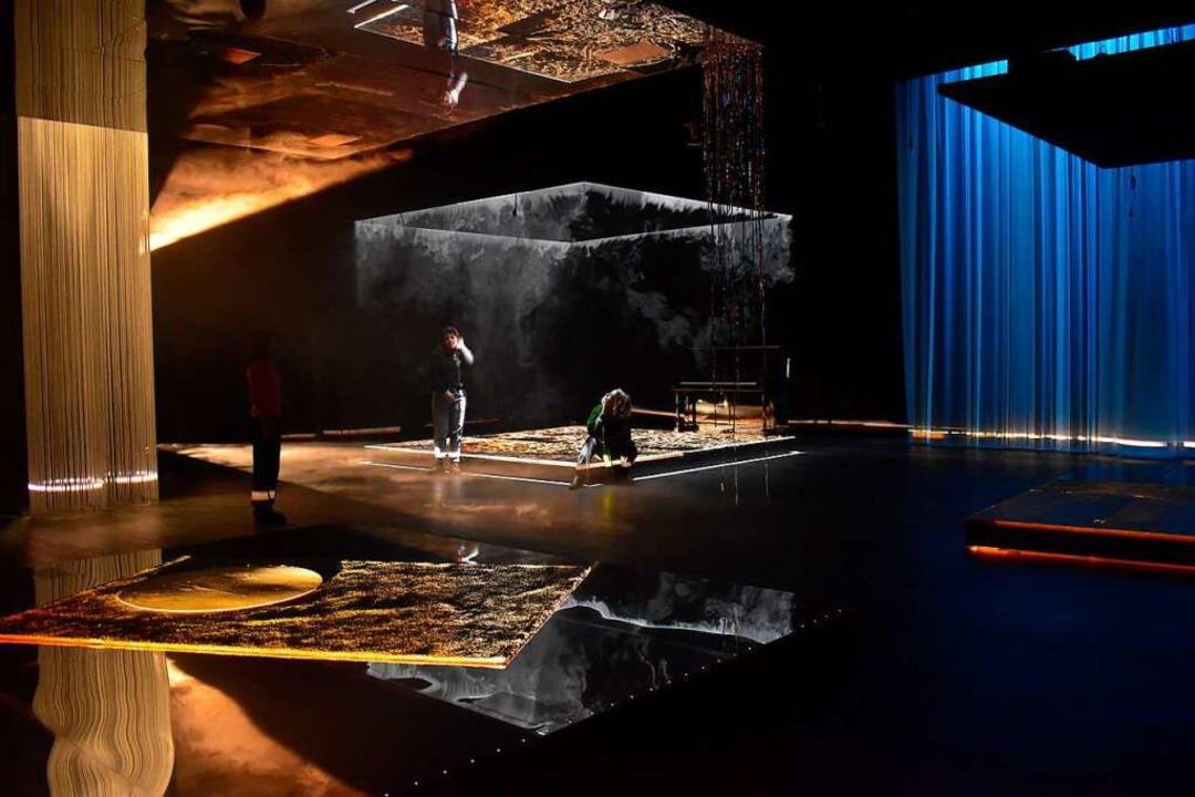"Szene aus dem Immersionsraum ""Niemandsland"" in der Kaserne  | Foto: Festival"