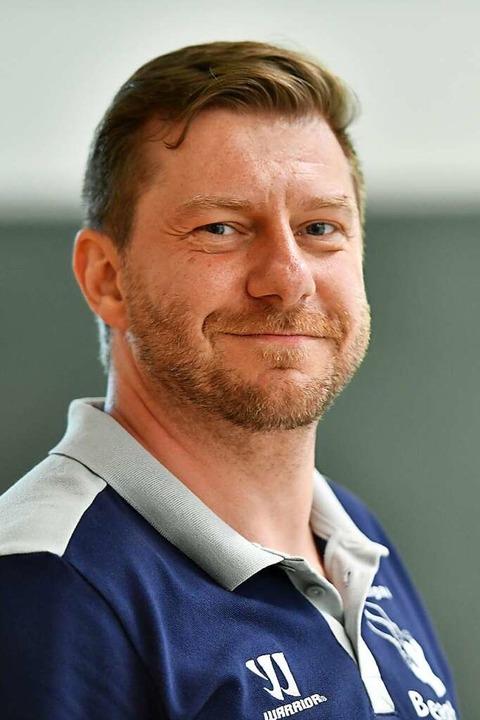 Beasts-Coach Dirk Müller hält die Rhei...ahr für den großen Aufstiegsfavoriten.  | Foto: Achim Keller