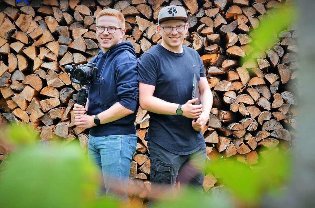 Niklas und Erik Sühling, Eisenbach    Foto: Kathrin Blum