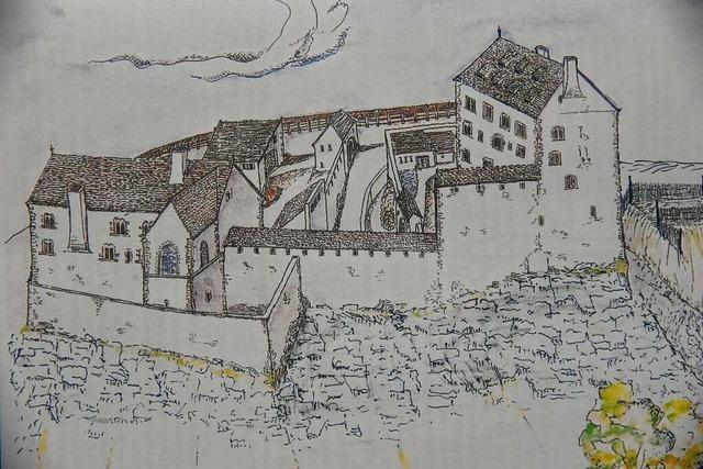 Landecker Burg-Förderverein ist zum Warten verdammt