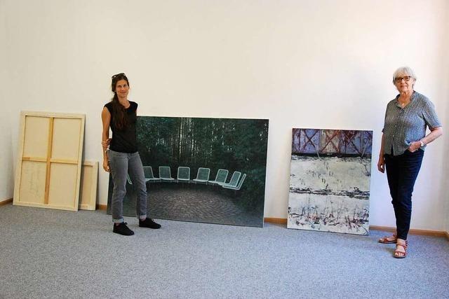 Neue Waldkircher Ausstellung zeigt Spiel mit Abstraktion und Natur, Realität und Fiktion