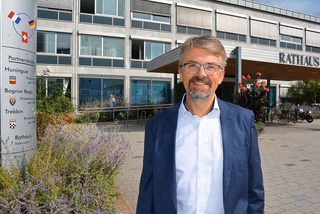Weils Bürgermeister Martin Gruner zieht Bilanz über seine ersten 100 Tage im Amt