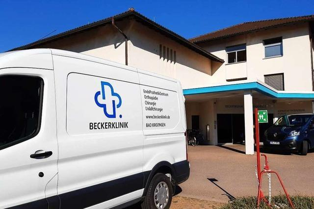 Die Beckerklinik hat seit 1. September einen neuen Inhaber