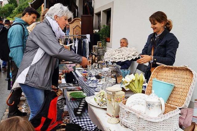 Der Mauchener Dorfflohmarkt findet am 11. September statt – unter Corona-Bedingungen
