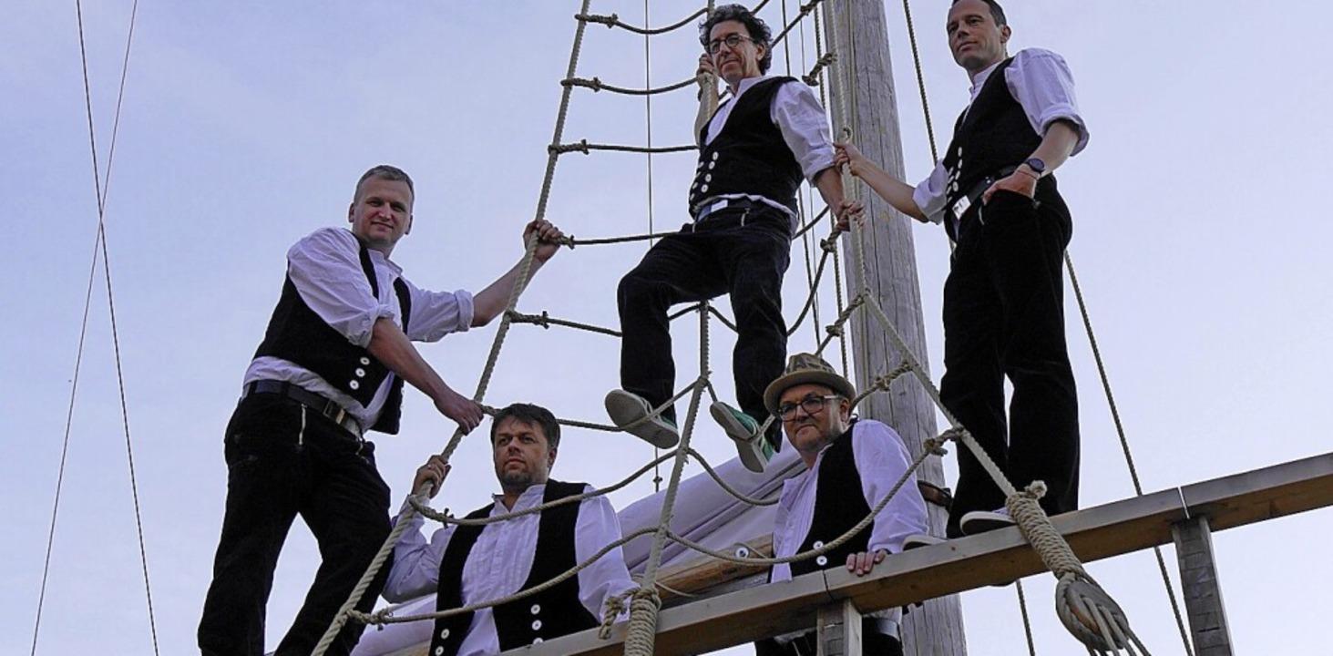Die Schwarzwälder Band Luddi ergänzt die Ausstellung in Staufen.  | Foto: Matteo Dörflinger