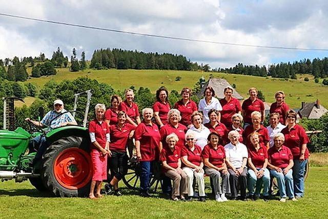 Seit 50 Jahren sind die Ibacher Landfrauen ein wichtiger Faktor im Dorf