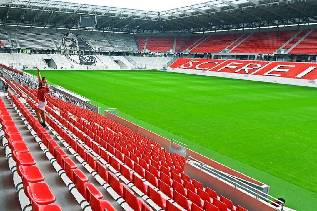 Blick ins neue Stadion  | Foto: Michael Bamberger