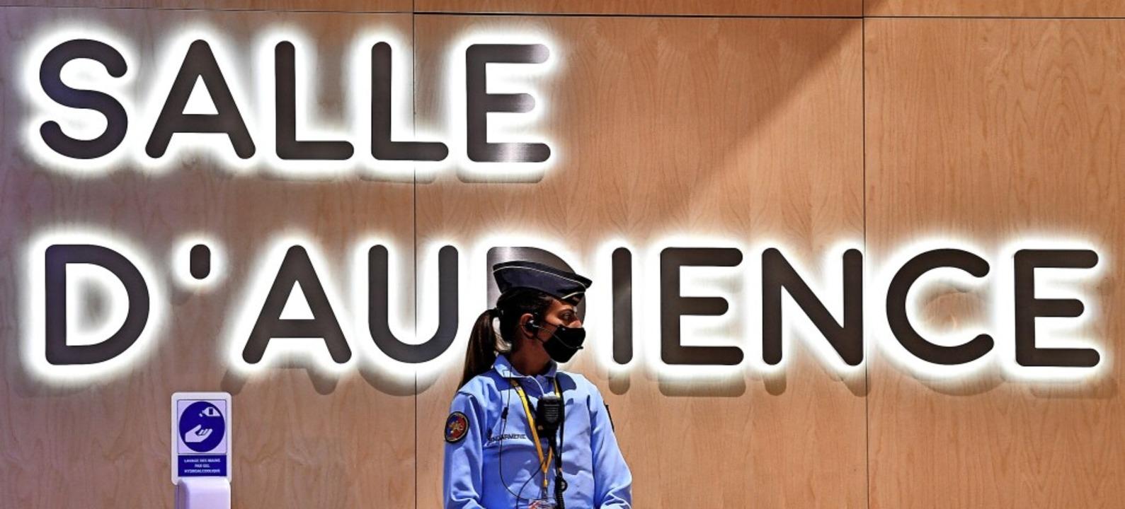 Die Gerichtsverhandlung findet im Justizpalast im Zentrum der Hauptstadt statt.  | Foto: ALAIN JOCARD (AFP)