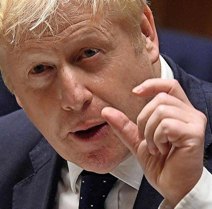Großbritanniens Premierminister Boris Johnson  | Foto: JESSICA TAYLOR (AFP)