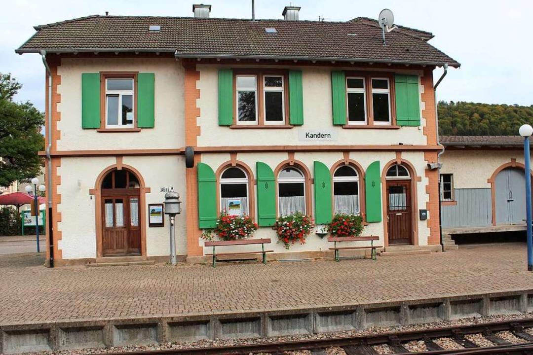 Der Bahnhof in Kandern  | Foto: Victoria Langelott