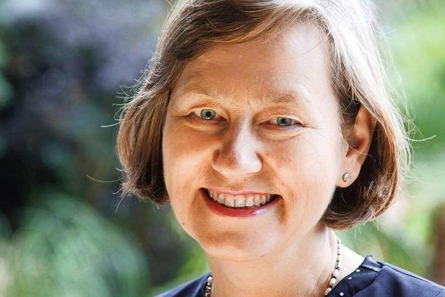 Martina Kempf von der AfD stellt sich dem BZ-Fragenwirbel